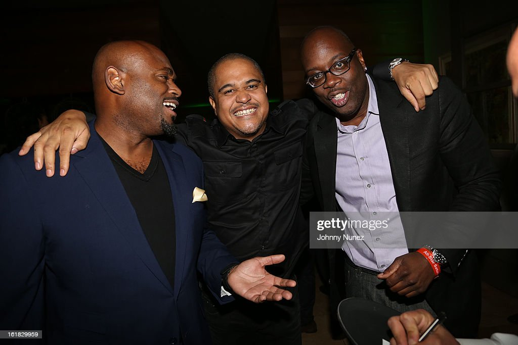 <a gi-track='captionPersonalityLinkClicked' href=/galleries/search?phrase=Steve+Stoute&family=editorial&specificpeople=717825 ng-click='$event.stopPropagation()'>Steve Stoute</a>, <a gi-track='captionPersonalityLinkClicked' href=/galleries/search?phrase=Irv+Gotti&family=editorial&specificpeople=537749 ng-click='$event.stopPropagation()'>Irv Gotti</a> and Michael Kyser attend The Two Kings Dinner presented by Sprite at RDG + Bar Annie on February 16, 2013 in Houston, Texas.
