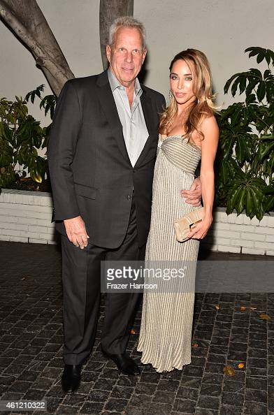 Steve Tisch and designer Katia Francesconi attend the W Magazine celebration of the 'Best Performances' Portfolio and The Golden Globes with Cadillac...