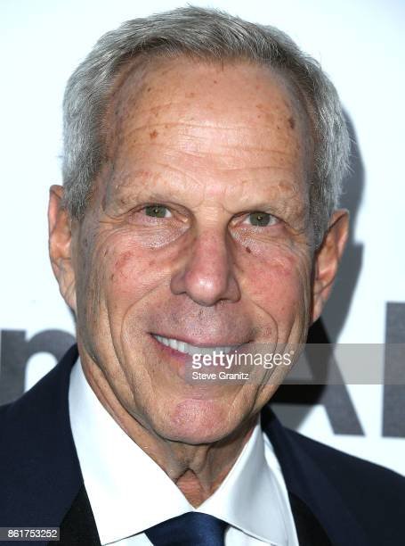 Steve Tisch arrives at the amfAR Los Angeles 2017 at Ron Burkleâs Green Acres Estate on October 13 2017 in Beverly Hills Californi