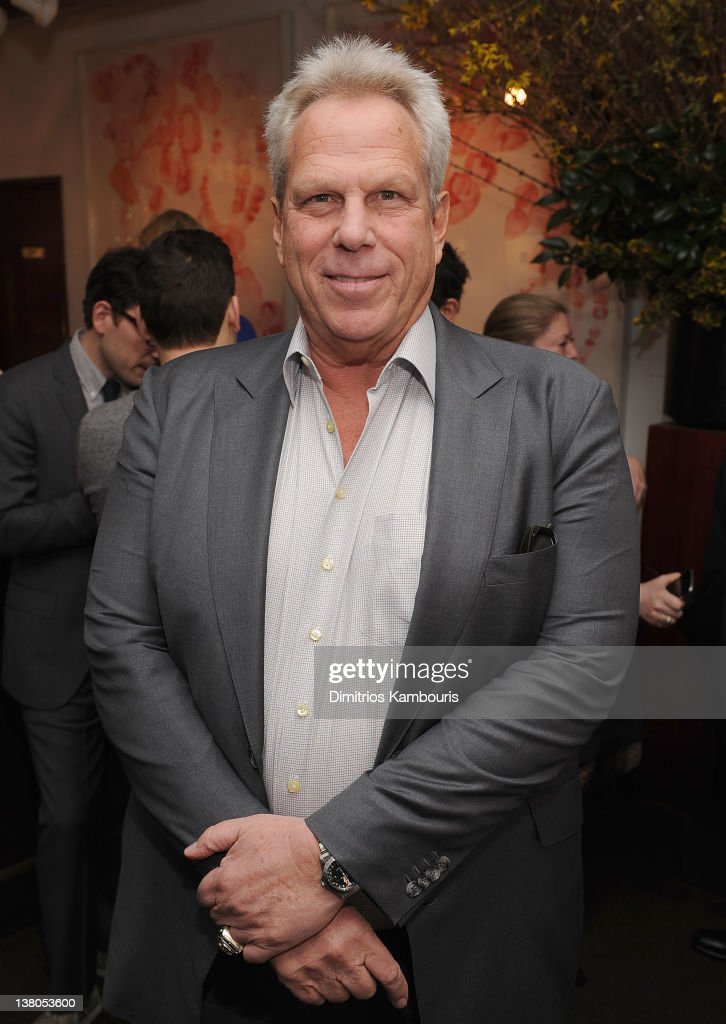 <a gi-track='captionPersonalityLinkClicked' href=/galleries/search?phrase=Steve+Tisch&family=editorial&specificpeople=235783 ng-click='$event.stopPropagation()'>Steve Tisch</a> attends the New York Giants Super Bowl Pep Rally Luncheon at Michael's on February 1, 2012 in New York City.