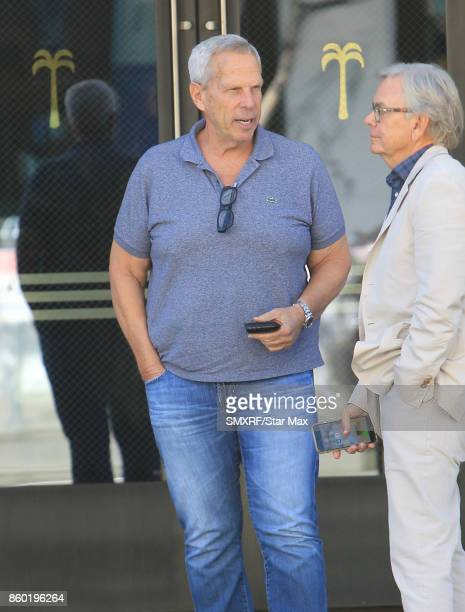 Steve Tisch is seen on October 10 2017 in Los Angeles California