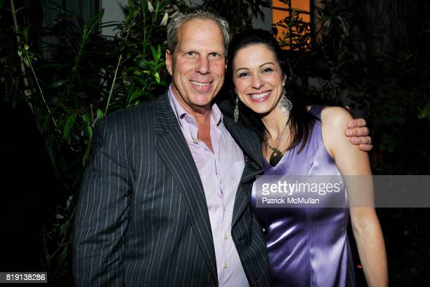 Steve Tisch Laura Nowatzki attend NICOLAS BERGGRUEN's 2010 Annual Party at the Chateau Marmont on March 3 2010 in West Hollywood California