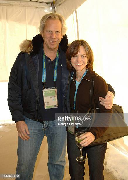 Steve Tisch Sundance Institute and Sally Field during 2006 Sundance Film Festival Board of Director's Luncheon at Blind Dog in Park City Utah United...