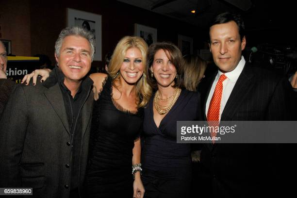 Steve Tyrell Jill Martin Leslie Harwood and Neal Golden at Book Party for JILL MARTIN'S FASHION FOR DUMMIES at Fresco On The Go on November 12 2009...