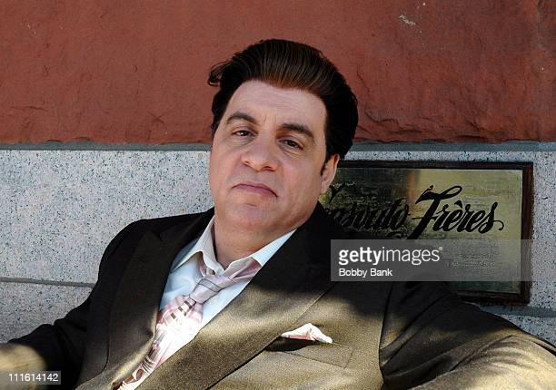 Steve Van Zandt during 'The Sopranos' On Location in New York City October 5 2006 at Tribeca Area in New York City New York United States