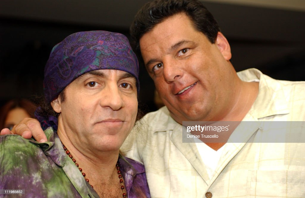 Steve Van Zandt & Steve during Hard Rock Hotel and Casino Presents Bruce Springsteen After-Party at Hard Rock Hotel in Las Vegas, Nevada, United States.