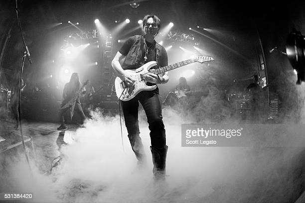 Steve Via performs during the Generation Axe Tour at The Royal Oak Music Theater on May 2 2016 in Royal Oak Michigan