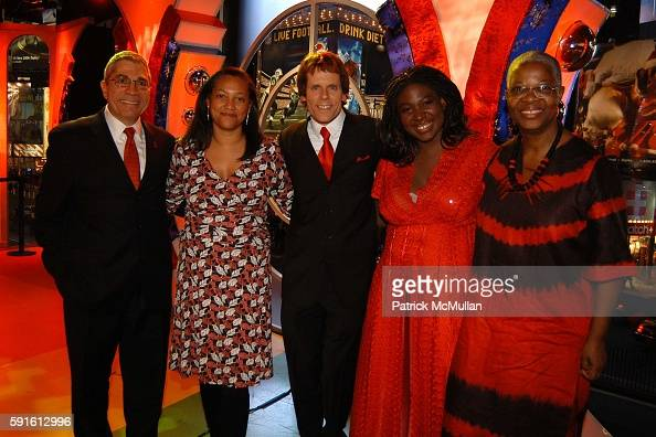 Steve Villano Christina Norman John Norris Suzanne Engo and Ruth Engo attend New York AIDS Film Festival Red Ball Opening Gala at Paramount Screening...