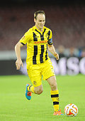 Steve von Bergen of Young Boys in action during the UEFA Europa League football match between SSC Napoli and BSC Young Boys at the San Paolo Stadium...