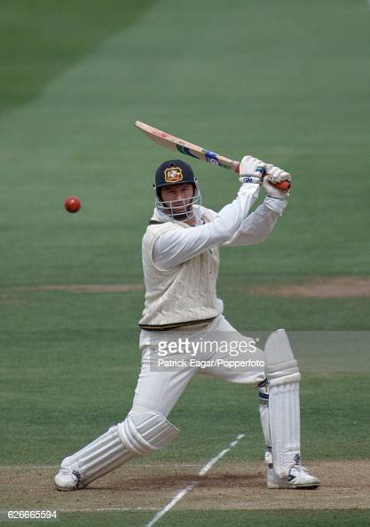 Steve Waugh batting for Australia during the 2nd Test match between England and Australia at Lord's Cricket Ground London 19th June 1993
