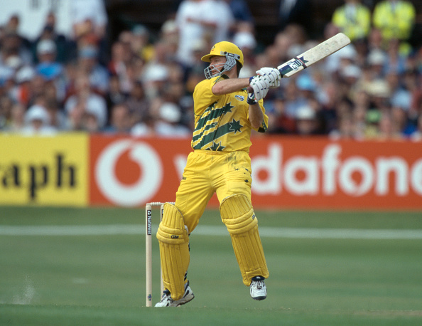 ICC Cricket World Cup Super Six  Australia v South Africa : News Photo