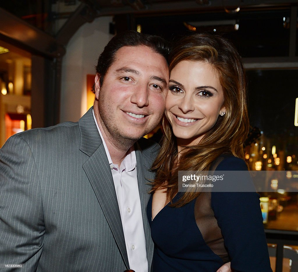 Steve Weiser and Maria Menounos attend the Have A Heart benefit for organ donor recipients and their families at Mixology LA at the Farmers Market on February 21, 2013 in Los Angeles, California.