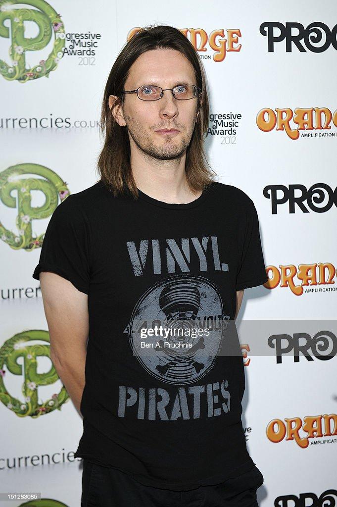 Steve Wilson attends the Progressive Music Awards at Kew Gardens on September 5, 2012 in London, England.