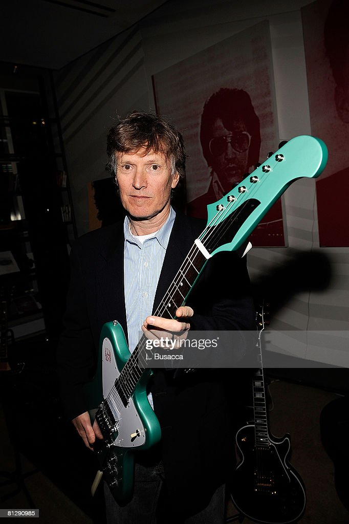 Steve Winwood at the Listening Party for his new album 'Nine Lives' on March 4, 2008 in New York City