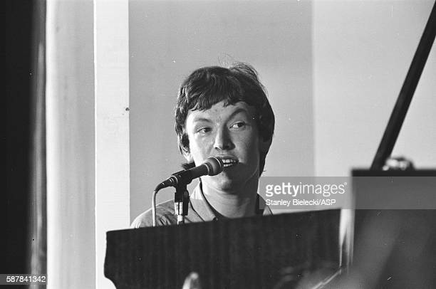 Steve Winwood of the Spencer Davis Group perform on stage at the National Jazz and Blues Festival Richmond United Kingdom 8th August 1965