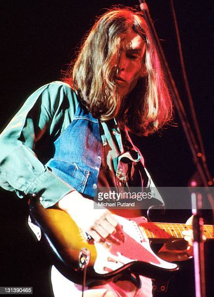 Steve Winwood of Traffic performs on stage London 1973