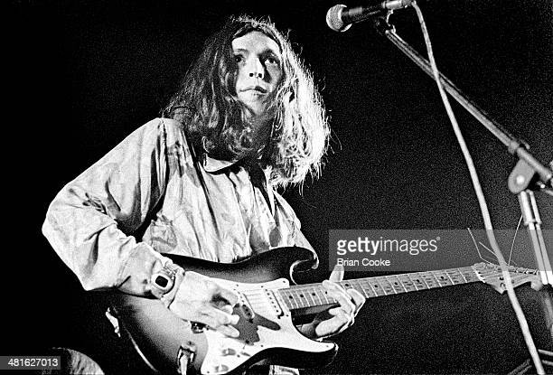 Steve Winwood on stage with Traffic at the Palazzo dello Sport in Rome on March 29 1973 while recording the band's live album On The Road