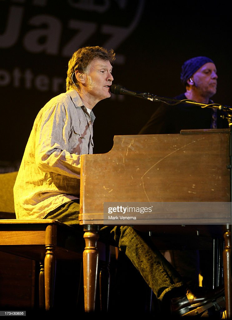 <a gi-track='captionPersonalityLinkClicked' href=/galleries/search?phrase=Steve+Winwood&family=editorial&specificpeople=208637 ng-click='$event.stopPropagation()'>Steve Winwood</a> performs at Day 2 of the North Sea Jazz Festival at Ahoy on July 13, 2013 in Rotterdam, Netherlands.