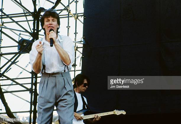 Steve Winwood performs at Riverfest in St Paul Minnesota in July 1988