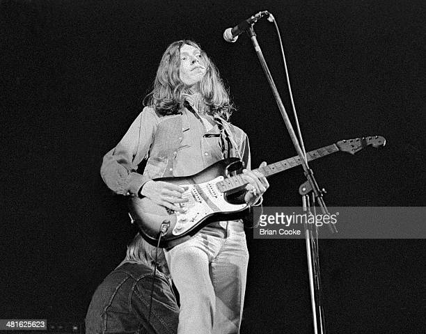 Steve Winwood playing with Traffic at The Rainbow Theatre Finsbury Park London on 12th April 1973 during their On The Road tour