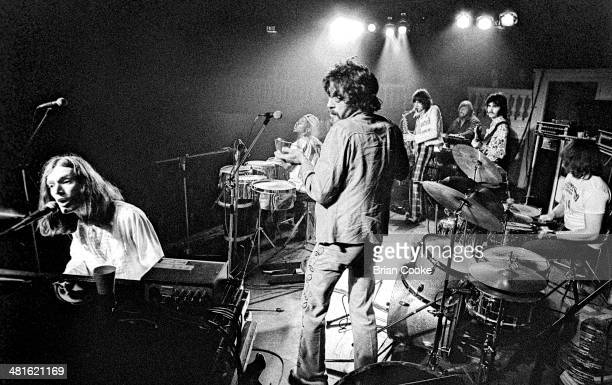 Steve Winwood Reebop Kwaku Baah Jim Capaldi Chris Wood of Traffic and Barry Beckett David Hood and Roger Hawkins of Muscle Shoals Rhythm Section The...