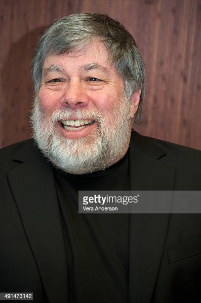 Steve Wozniak at the 'Steve Jobs' Press Conference at the Mandarin Oriental Hotel on October 3 2015 in New York City