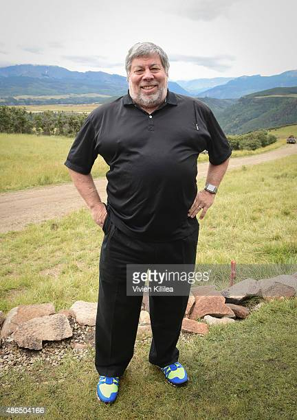 Steve Wozniak attends the Patron's Brunch at the 2015 Telluride Film Festival on September 4 2015 in Telluride Colorado