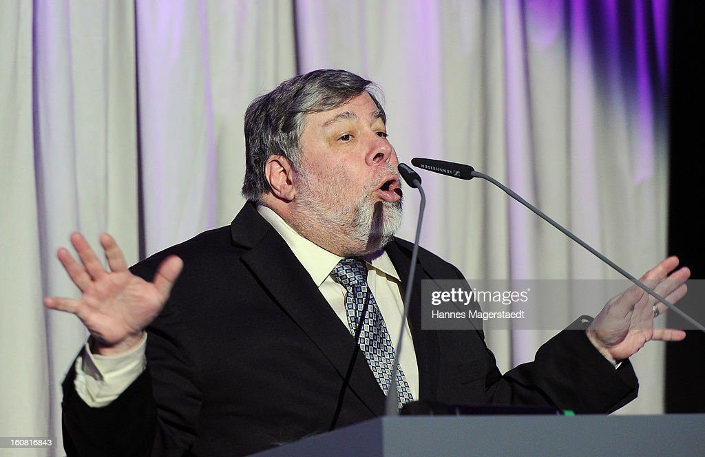 Steve Wozniak, cofounder of Apple attends the Best Brands 2013 Gala at Bayerischer Hof on February 6, 2013 in Munich, Germany.