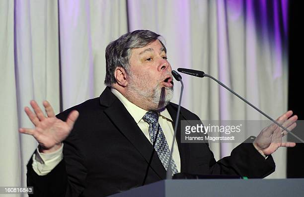 Steve Wozniak cofounder of Apple attends the Best Brands 2013 Gala at Bayerischer Hof on February 6 2013 in Munich Germany