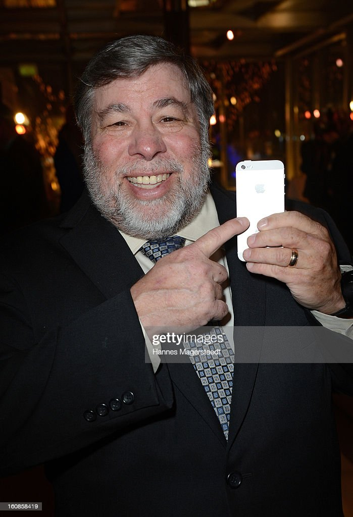 Steve Wozniak, co-founder of Apple attends the Best Brands 2013 Gala at Bayerischer Hof on February 6, 2013 in Munich, Germany.