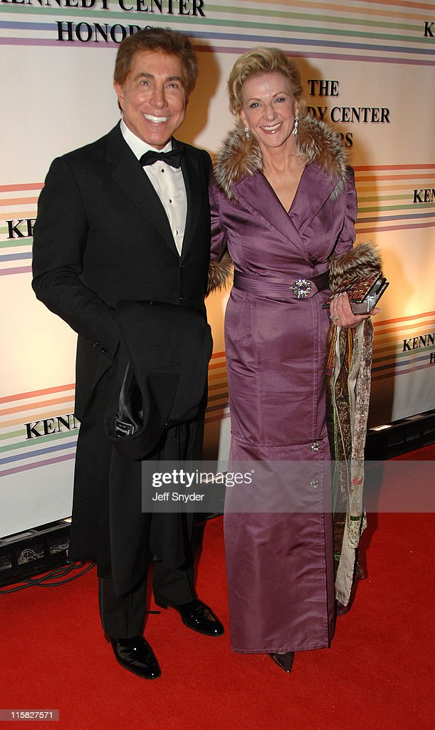 <a gi-track='captionPersonalityLinkClicked' href=/galleries/search?phrase=Steve+Wynn&family=editorial&specificpeople=696427 ng-click='$event.stopPropagation()'>Steve Wynn</a> and wife during 29th Annual Kennedy Center Honors at John F. Kennedy Center for the Performing Arts in Washington, DC, United States.