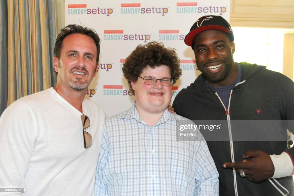 Steve Yamin, Jesse Heiman and Brian Banks attends 3rd Annual Rockn Rolla Movie Awards Eco Party on April 11, 2013 in Los Angeles, California.