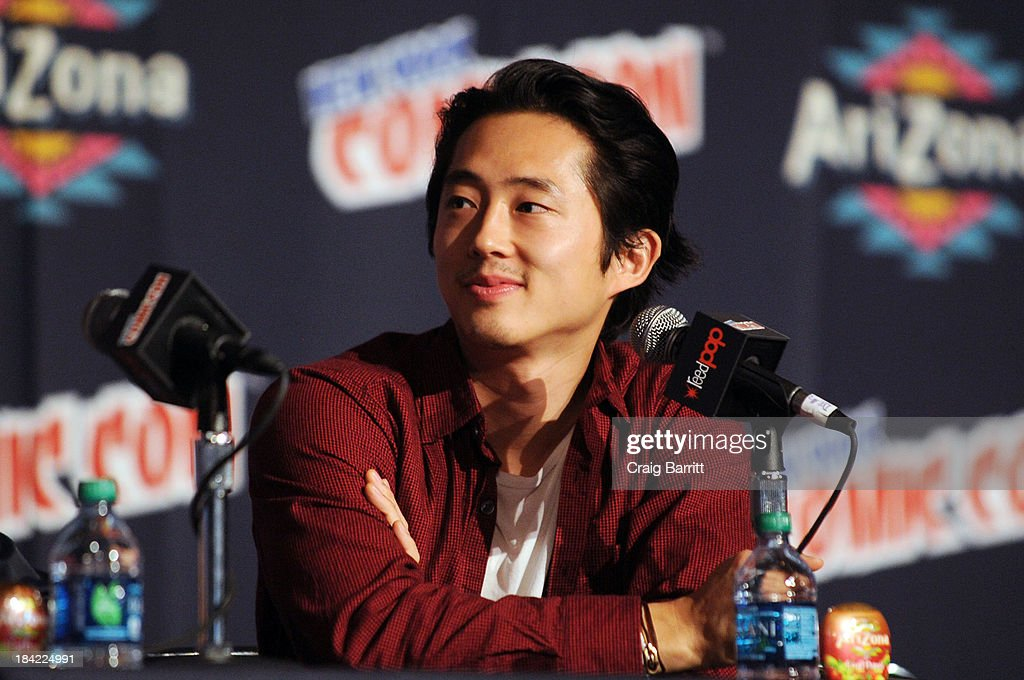 Steve Yeun attends the Korra panel at the 2013 New York Comic Con at Javits Ceter on October 12, 2013 in New York City.