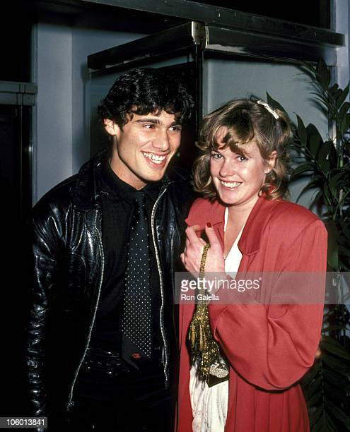 Steven Bauer and Melanie Griffith during 'Atlantic City' Premiere After Party April 2 1981 at Florentine Gardens in Hollywood California United States