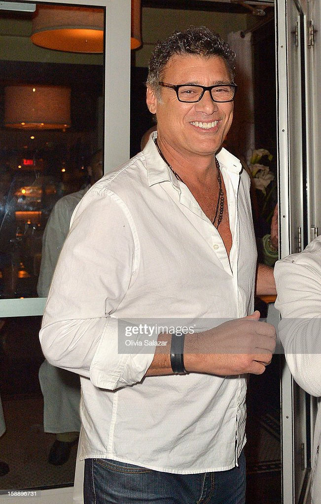 Steven Bauer is seen at Prime 112 Steakhouse on January 2, 2013 in Miami Beach, Florida.