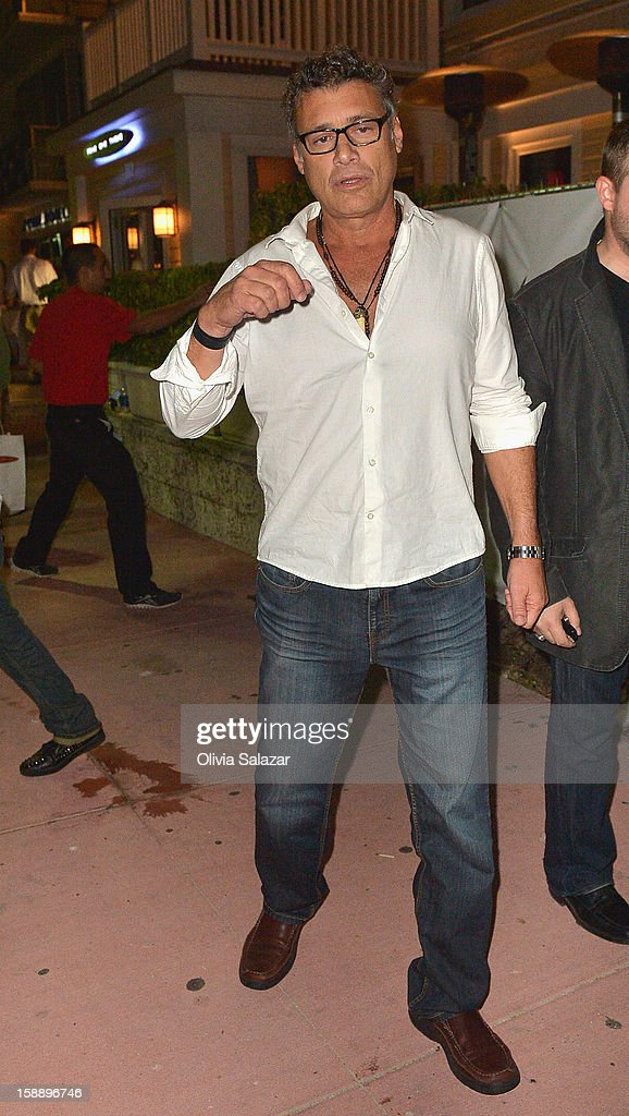 <a gi-track='captionPersonalityLinkClicked' href=/galleries/search?phrase=Steven+Bauer&family=editorial&specificpeople=220736 ng-click='$event.stopPropagation()'>Steven Bauer</a> is seen at Prime 112 Steakhouse on January 2, 2013 in Miami Beach, Florida.
