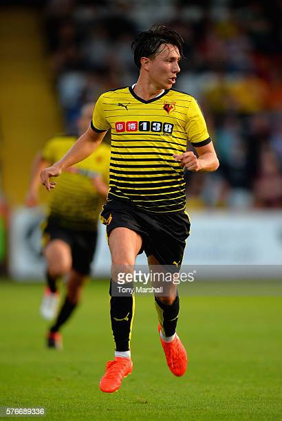 Steven Berghuis during the PreSeason Friendly match between Stevenage and Watford at The Lamex Stadium on July 14 2016 in Stevenage England