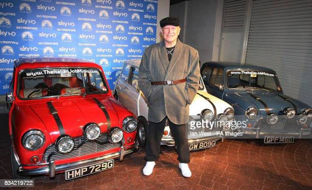 Steven Berkoff arrives at the screening of The Italian Job in HD on Sky Movies at the Soho Hotel London