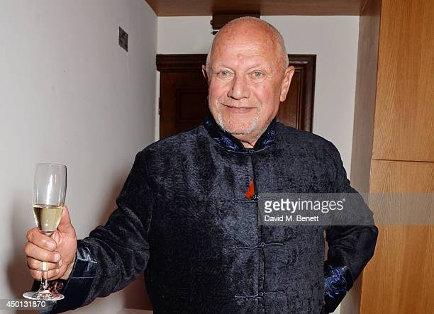 Steven Berkoff attends an after party celebrating the press night performance of 'Benvenuto Cellini' directed by Terry Gilliam for the English...
