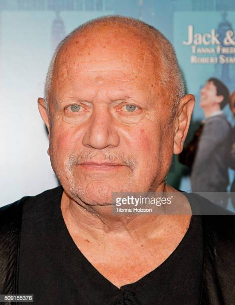 Steven Berkoff attends opening night of 'Jack And Jill' at Santa Monica Playhouse on February 5 2016 in Santa Monica California