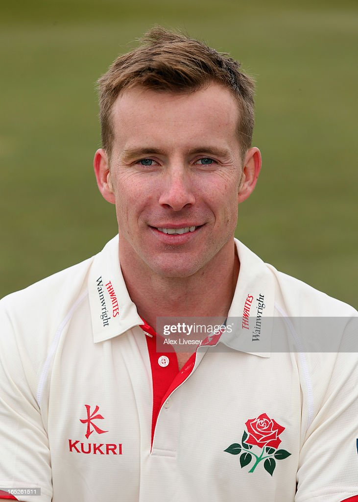 Steven Croft of Lancashire CCC during a pre-season photocall at Old Trafford on April 2, 2013 in Manchester, England.