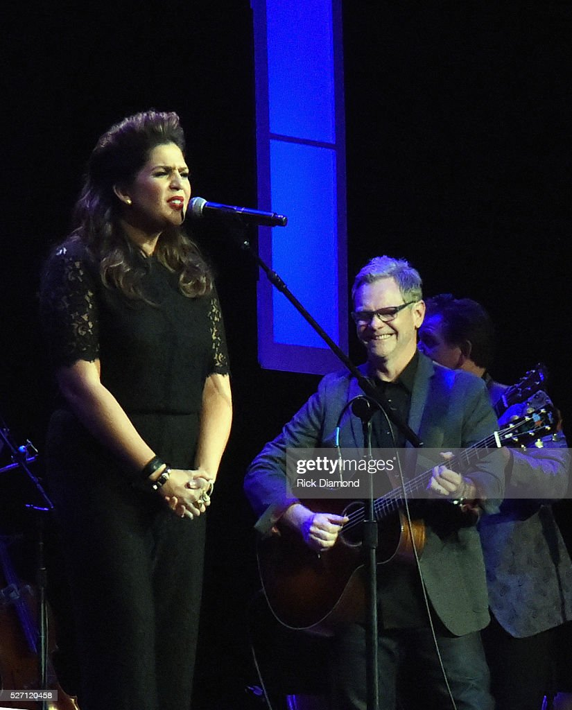 <a gi-track='captionPersonalityLinkClicked' href=/galleries/search?phrase=Steven+Curtis+Chapman&family=editorial&specificpeople=828220 ng-click='$event.stopPropagation()'>Steven Curtis Chapman</a> joins Hillary Scott & The Scott Family during Sam's Place - Music For The Spirit - May 1, 2016 at Ryman Auditorium in Nashville, Tennessee.