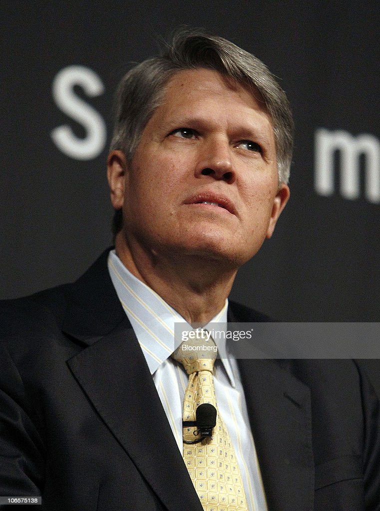 Steven Engle, president and chief executive officer of Xoma Ltd., speaks during the Cleveland Clinic's 2010 Medical Innovation Summit titled 'Obesity, Diabetes, & The Metabolic Crisis' in Cleveland, Ohio, U.S., on Wednesday, Nov. 3, 2010. The number of people in the U.S. who are obese has more than doubled in the past 30 years to 72 million, according to the U.S. Centers for Disease Control. Photographer: David Maxwell/Bloomberg via Getty Images