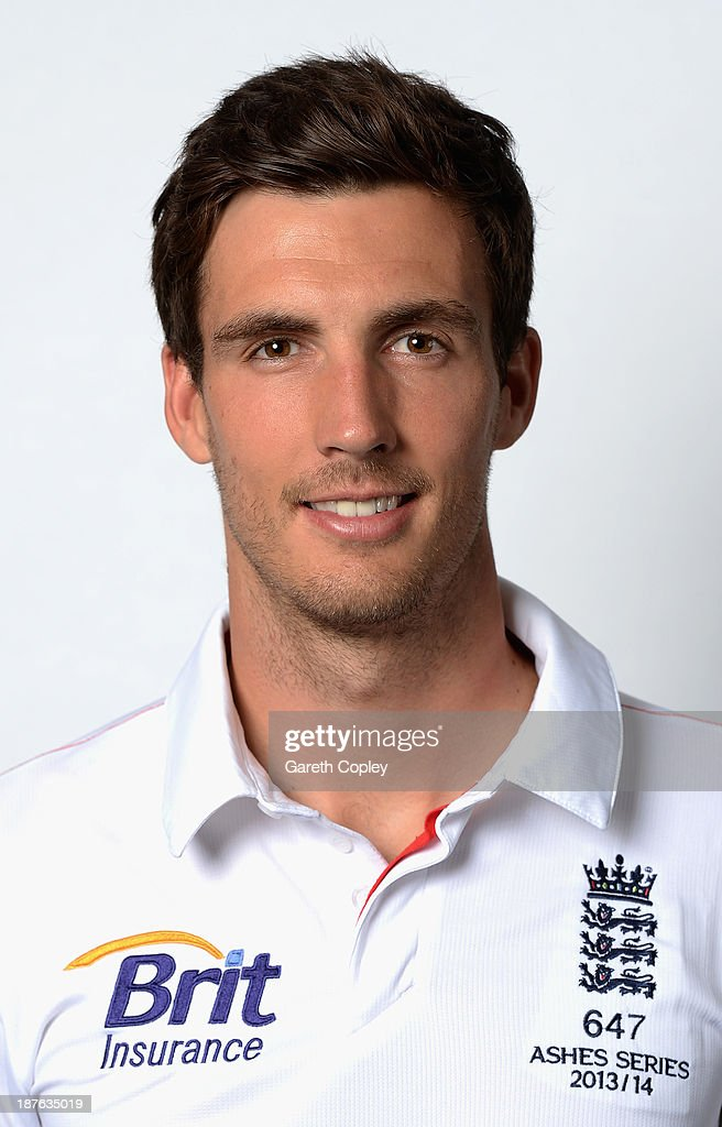 Steven Finn poses during an England cricket headshots session at the InterContinental Sydney on November 11, 2013 in Sydney, Australia.