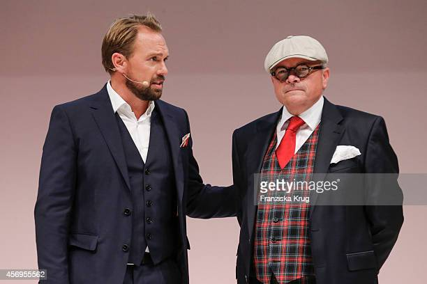 Steven Gaetjen and Dietmar K Elsasser attend the Audi Fashion Award 2014 on October 09 2014 in Hamburg Germany