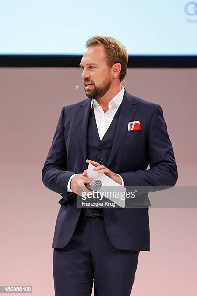 Steven Gaetjen attends the Audi Fashion Award 2014 on October 09 2014 in Hamburg Germany