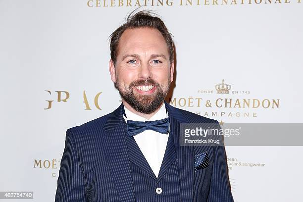 Steven Gaetjen attends the Moet Chandon Grand Scores Dinner on February 04 2015 in Berlin Germany