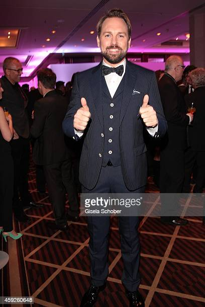 Steven Gaetjen during the Video Entertainment Award 2014 on November 19 2014 at Hotel Westin Grand in Munich Germany