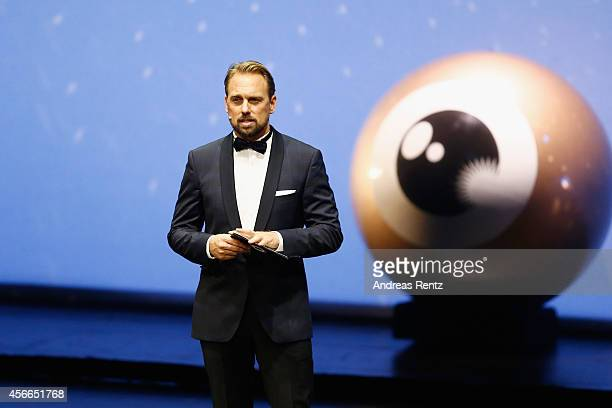 Steven Gaetjen seen on stage at the Award Night Ceremony during Day 10 of Zurich Film Festival 2014 on October 4 2014 in Zurich Switzerland