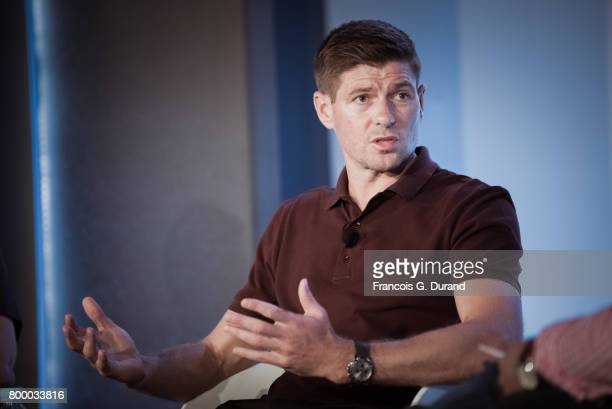 Steven Gerrard attends the Cannes Lions Festival 2017 on June 22 2017 in Cannes France